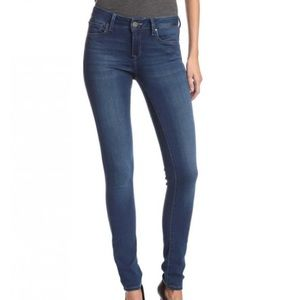 Mavi Adriana Blue Skinny Jeans
